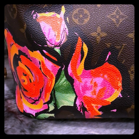 Louis Vuitton Handbags - Louis Vuitton Stephen Sprouse Roses Neverfull MM